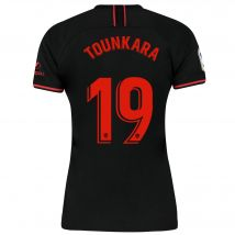 Atlético de Madrid Away Stadium Shirt 2019-20 - Womens with Tounkara 19 printing