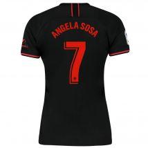 Atlético de Madrid Away Stadium Shirt 2019-20 - Womens with Angela Sosa 7 printing