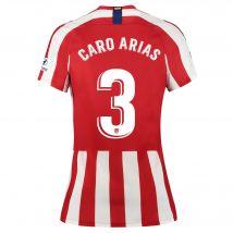 Atlético de Madrid Home Stadium Shirt 2019-20 - Womens with Caro Arias 3 printing