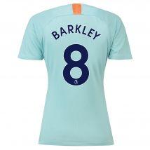 Chelsea Third Stadium Shirt 2018-19 - Womens with Barkley 8 printing