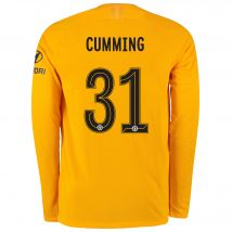 Chelsea Gold Cup Stadium Goalkeeper Shirt 2019-20 - Long Sleeve with Cumming 31 printing
