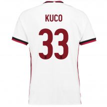 AC Milan Away Shirt 2017-18 with Kuco 33 printing