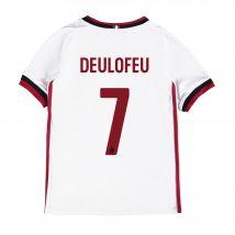 AC Milan Away Shirt 2017-18 - Kids with Deulofeu 7 printing
