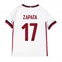 AC Milan Away Shirt 2017-18 - Kids with Zapata 17 printing