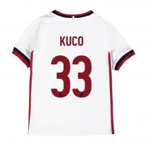 AC Milan Away Shirt 2017-18 - Kids with Kuco 33 printing