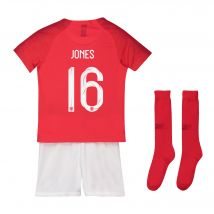 England Away Stadium Kit 2018 - Infants with Jones 16 printing