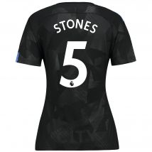 Manchester City Third Stadium Shirt 2017-18 - Womens with Stones 5 printing
