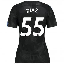 Manchester City Third Stadium Shirt 2017-18 - Womens with Diaz 55 printing