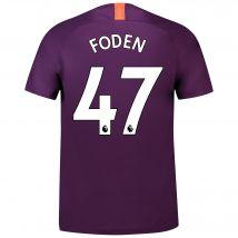 Manchester City Third Stadium Shirt 2018-19 with Foden 47 printing