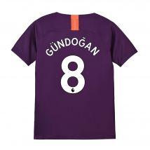 Manchester City Third Stadium Shirt 2018-19 - Kids with Gündogan 8 printing