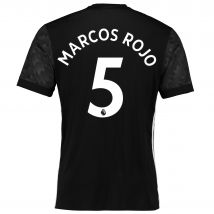 Manchester United Away Shirt 2017-18 with Marcos Rojo 5 printing