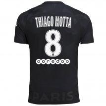 Paris Saint-Germain Third Stadium Shirt 2017-18 - Kids with Thiago Motta 8 printing