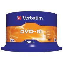 Verbatim 16x DVD-R 4.7GB AZO 50 Pack Spindle
