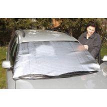 Pkw Alu Scheibenschutz für Windschutzscheiben, schützt vor Kälte/ Hitze