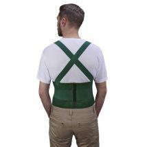 Grüner Rückenstütz-Gürtel