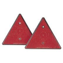 Dreieck Rückstrahler 2er Set für alle Arten von Anhängern / Zubehör