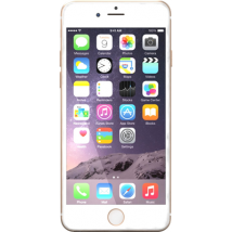 Apple iPhone 6 (64GB Gold Refurbished Grade A) at £319.00 on No contract.