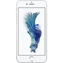 Apple iPhone 6s (16GB Silver Refurbished Grade A) on O2 Non-Refresh (24 Month(s) contract) with UNLIMITED mins; UNLIMITED texts; 30000MB of 4G data. £33.00 a month.