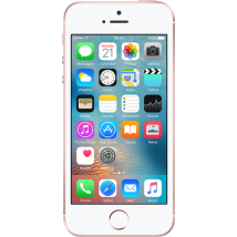 Apple iPhone SE (16GB Rose Gold Refurbished Grade A) at £229.99 on No contract.