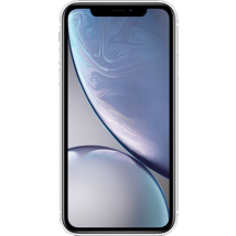 Apple iPhone XR (64GB White) at £289.99 on O2 Non-Refresh (24 Month(s) contract) with UNLIMITED mins; UNLIMITED texts; 30000MB of 4G data. £33.00 a month (Consumer Upgrade Price).
