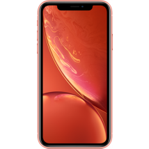 Apple iPhone XR (128GB Coral) at £679.00 on No contract.