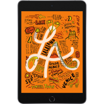 """Apple iPad Mini 5 7.9"""" (2019) (64GB Space Grey) at £100.00 on Tablet Plan Standard (24 Month(s) contract) with 1000MB of 4G data. £26.00 a month."""