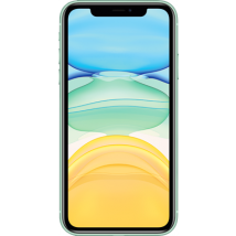 Apple iPhone 11 (64GB Green) on Pay Monthly 1GB (24 Month(s) contract) with UNLIMITED mins; UNLIMITED texts; 1000MB of 4G data. £34.99 a month.