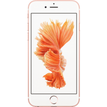 Apple iPhone 6s Plus (32GB Rose Gold) at £349.00 on No contract.