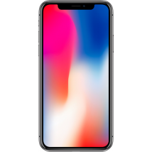 Apple iPhone X (64GB Space Grey) at £374.99 on Essential 4GB (24 Month(s) contract) with UNLIMITED mins; UNLIMITED texts; 4000MB of 4G Double-Speed data. £38.00 a month.