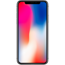 Apple iPhone X (64GB Space Grey Refurbished Grade A) at £699.00 on No contract.