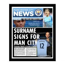 Personalised Manchester City News
