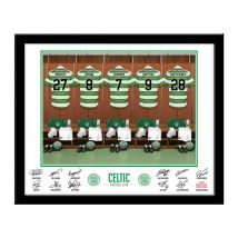 Personalised Celtic Dressing Room Print