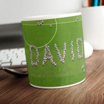 Personalised Mug - Footballs Design