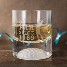 Personalised Golf Whisky Tumbler - On Par Since...