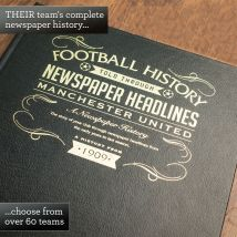 Personalised Football Book - For Your Team