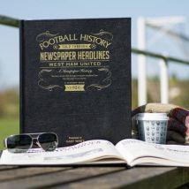 Personalised West Ham Football Book
