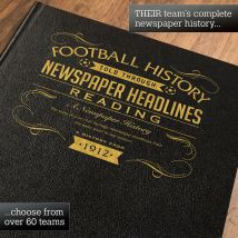 Personalised Reading Football Book