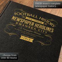 Personalised Swansea Football Book