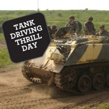 Tank Driving Thrill Experience Day
