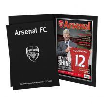 Personalised Arsenal Magazine Cover
