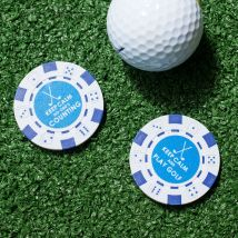 Keep Calm Poker Chip Ball Markers