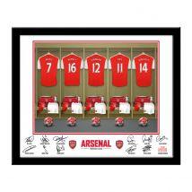 Personalised Arsenal Dressing Room Print