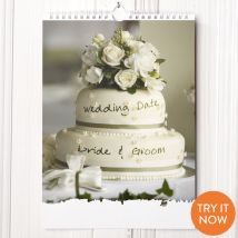 Personalised Just Married Calendar -1st Edition