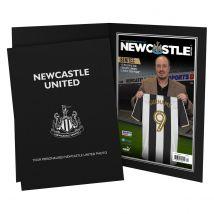 Personalised Newcastle United Magazine Cover