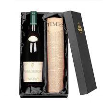 Chablis Premier Cru Wine & Original Newspaper