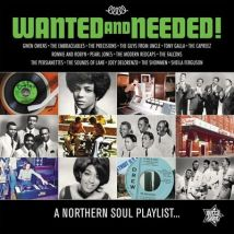 Wanted and Neededa Northern Soul Playlist by Various Artists Vinyl Album