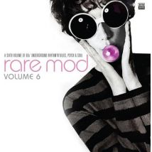 Rare Mod A Sixth Volume of 60s Underground Rhythm N Blues Psych & Soul - Volume 6 by Various Artists Vinyl Album
