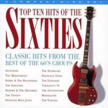 Top 10 Hits of the Sixties by Various Artists CD Album