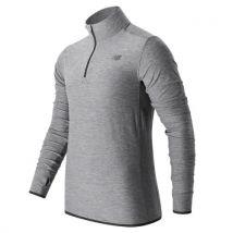 New Balance N Transit Quarter Zip - Athletic Grey (Size L)