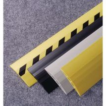 CABLE PROTECTOR PVC, 3M LENGTH WIDTH:75MM, BLACK